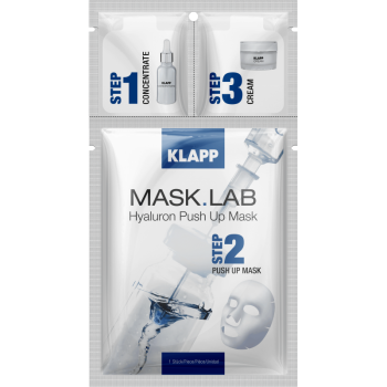 Gesichtsmaske Hyaluron Push Up Mask